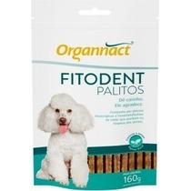 Fitodent Palitos Organnact Para Prevenção De Tártaro Pr Cães
