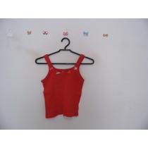 Blusa Feminina Vermelha Lacinhos De Fita Cód. 525