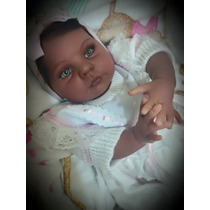 Bebê Reborn - Molde Honey Negra - Por Encomenda!