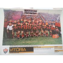 Vitória Campeão Baiano 2000 Poster Placar Avulso