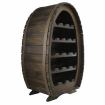 Adega Colonial Rústica Para 18 Garrafas - Vinho - Barril