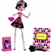 Boneca Draculaura Monster High Bdf12 Mattel