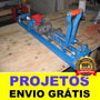 Projeto Injetora De Plástico Manual + Brinde + Frete Grátis