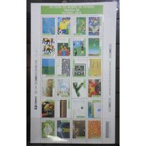 1998 - Folha Completa - Copa Do Mundo Da França 24 Selos