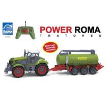 Trator Power Roma Tanque 1764 Controle Remoto - Frete Grátis