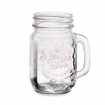 Copo/jarra/pote Vidro Mason Jar 500ml Ice Cold Transparente