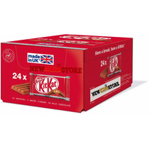 Caixa Fechada Chocolate Kit Kat Tradicional C/ 24 Barras