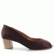 Peep Toe Feminino 2016 Numeração Especial Sapato Show Cl707