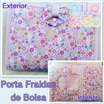 Porta Fraldas (lenço E Pomada) De Bolsa - Compacto