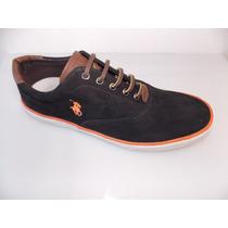 Sapato,tênis Polo Ralph Lauren 100% Couro - Sola Blaquiada