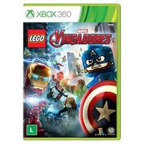 Lego Marvel Vingadores Avengers Xbox 360 Mídia Física Pt Br