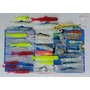 Kit Iscas Artificiais Banjo Minnow 110 Pçs Acessórios Pesca