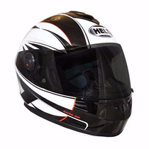 Capacete Helt Advanced Racing Fechado Viseira Anti Risco