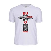 Camisa Camiseta Jesus Jovem Gospel Evangélica Amor Tshirt Fé