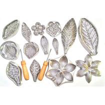 Kit Frisadores Para Flor Eva Com Apostila Completa Gratis