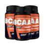 Kit 3x Bcaa Premium 120 Tabletes - New Millen - Frete Grátis