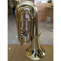 Tuba Compacta 3/4 Weril Laqueada - 4 Pistos (revisada)