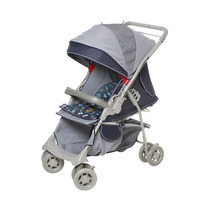 Carrinho De Bebê Para Passeio Maranello 1380 Azul Galzerano
