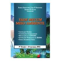 Livro Vade Mecum - Meio Ambiente - Acompanha Cd-rom - 4ª Edi