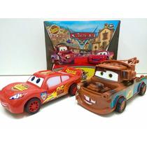 Relâmpago Mcqueen E Mate Kit À Fricção Disney Carros