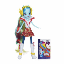 Boneca Rainbow Rocks Equestria Girls Rainbow Dash - Hasbro