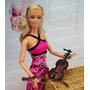 Violino Para Boneca Barbie * Ken * Monster High * Miniatura