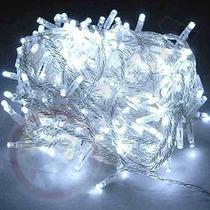 Pisca Pisca Led 100 Lampadas Branco Natal Natlino Luz Decor