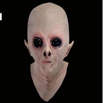 (frete Grátis) - Máscara Cabeça Extraterrestre, Et, Látex.