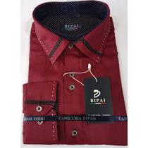 Camisa Social Slim Fit Masculina Pronta Entrega 100%original