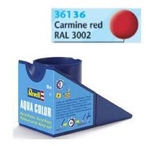 Tinta Acrílica Vermelho Carmim Fosco 18ml - 36136 - Revell