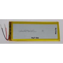 Bateria Para Tablet Multilaser M8 Original 4000 Mah 3,7v 2 F