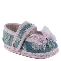 Sapatilha Premium Jeans Rosa 32007lp - Baby Gut