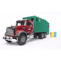 Bruder 2812 - Caminhão De Lixo Mack Granite