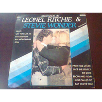 Lp Sucessos De Leonel Ritchie E Stevie Wonder. Fusion Band.