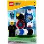 Lego® Clic Time - Relógio De Pulso City Políca Idade:6-99