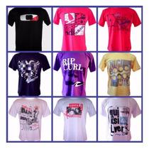 Kit 10 Camisas Camisetas De Marca Atacado Promoção Oferta !!
