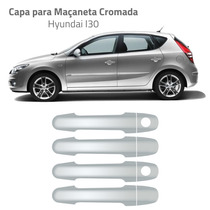 Kit Capa Cromada Macaneta Hyundai I30 Aplique Maçaneta