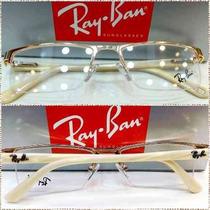 Rb9111 Armação Receituário Fio Nylon Unissex 9 Cores Óculos