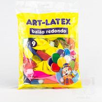 200 Balões Coloridos - Bexiga Art-latex Para Festa Colorida