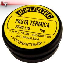 Pasta Termica 15g Pote P/ Pc Processador Cooler 775 1155 Amd
