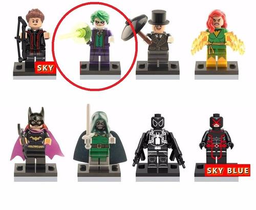 Coringa dc lego playmobil bloco de montar batman flash - Batman playmobil ...