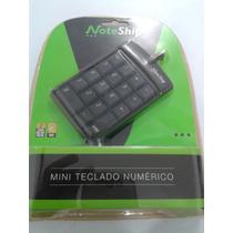 Mini Teclado Numérico Usb P/ Notebook