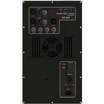 Amplificador In Box Áudio Leader Cm 800 800w Rms Caixa Som