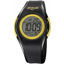 Relógio Unissex Everlast Digital Esportivo E412 Preto