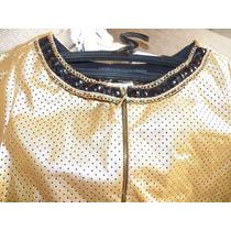 Vestido De Festa - Ouro - Tamanho 36 - Marca Joyaly