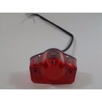 Lanterna Traseira Completo Dafra Super 100 Vermelho