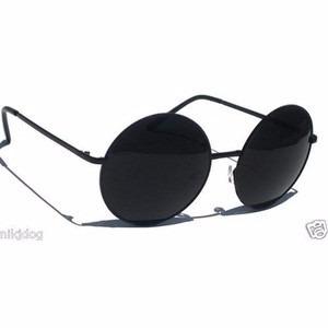 R  29.45. 5 vendidos. Óculos De Sol Estilo John Lennon Todo Preto 488020bff1