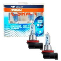 Lâmpadas H11 Osram Cool Blue Intense 4200k Efeito Xenon