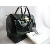 Bolsa Furla Candy Vanilla Medium Satchel Premium