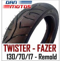 Pneu Remold Twister Traseiro 130/70/17 - Pronta Entrega